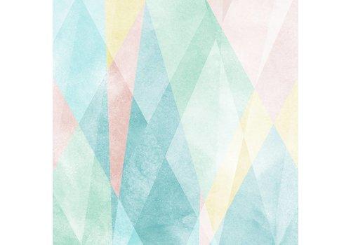Sandberg Prisma Multi-Colored (behangpaneel)
