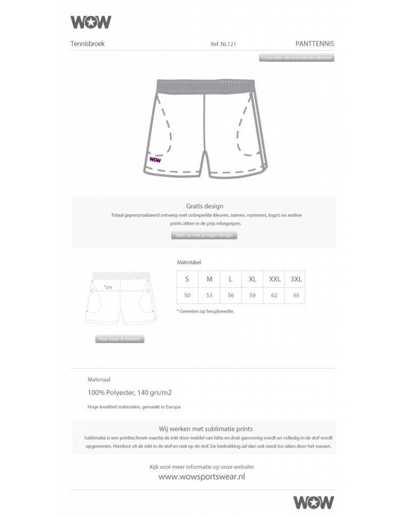 WOW sportswear WOW Performance Tennis Short