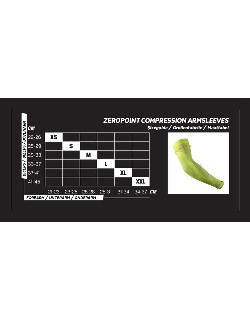 Zero Point Compressie Arm Sleeve Geel