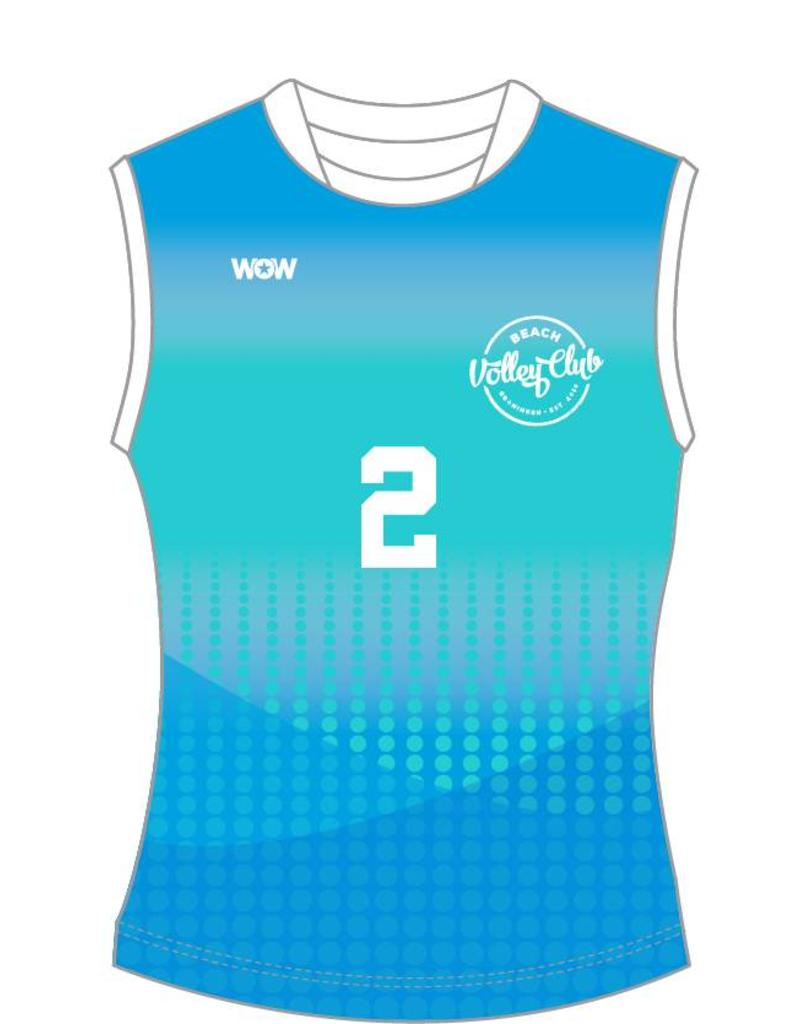 WOW sportswear Mouwloos Performance Shirt Dames