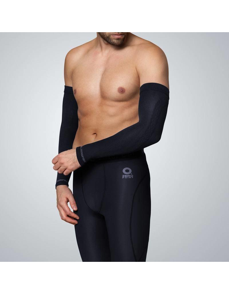 Zero Point Compressie Arm Sleeve Zwart