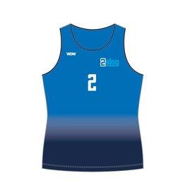 WOW sportswear Beachhemdje Dames  2Slag