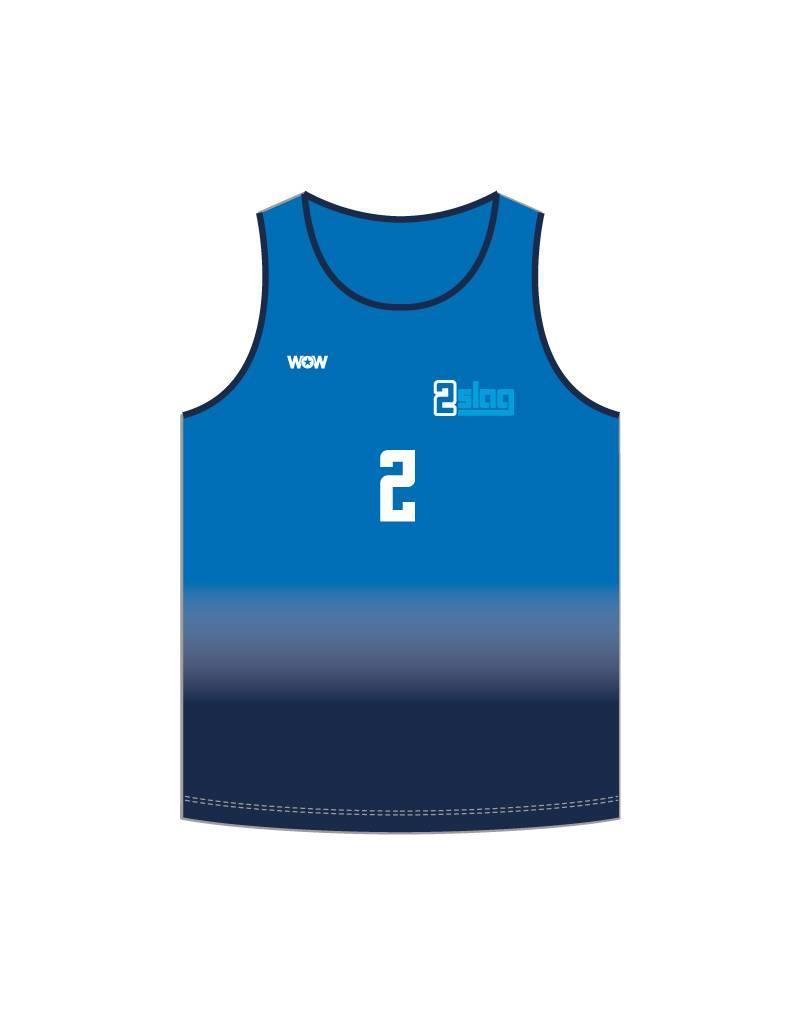 WOW sportswear Beachhemd heren  2Slag