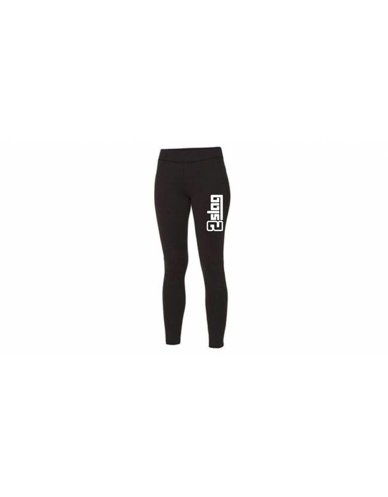 WOW sportswear Sport Legging Black 2Slag
