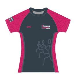 WOW sportswear Shirt Raglan Dames  Runners Together