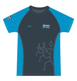 WOW sportswear Shirt Raglan Heren Runnes Together