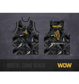 WOW sportswear LIMITED EDITION BEACHHEMD UNISEX