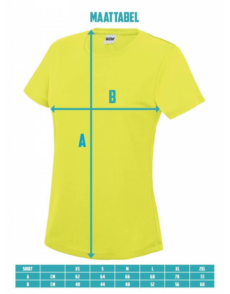 WOW sportswear Sportshirt Burgundy