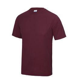 WOW sportswear Sportshirt Burgundy Unisex