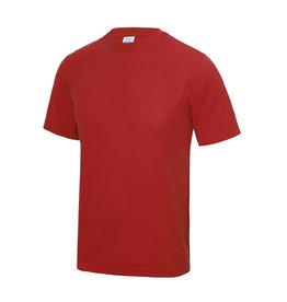 WOW sportswear Sportshirt Fire Red Unisex