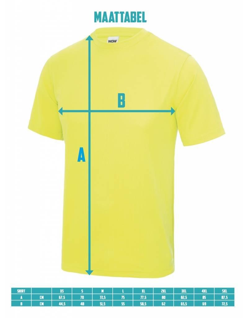 WOW sportswear Sportshirt Oxford Navy Unisex
