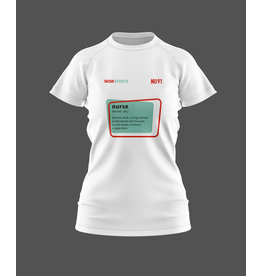 WOW sportswear NURSE Shirt Dames