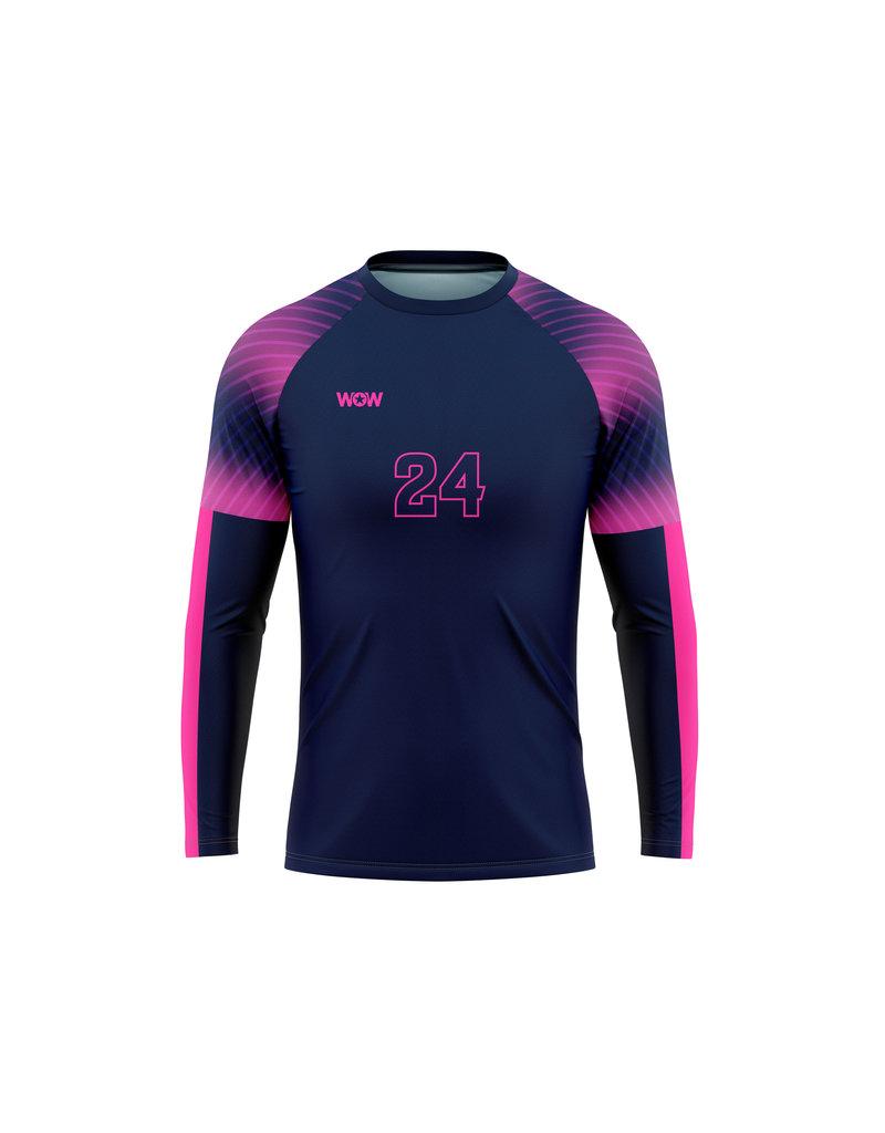 WOW sportswear Performance Shirt Longsleeve Dames, Heren en Kids