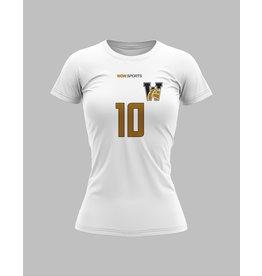 WOW sportswear Wit trainingsshirt met sublimatie print A3