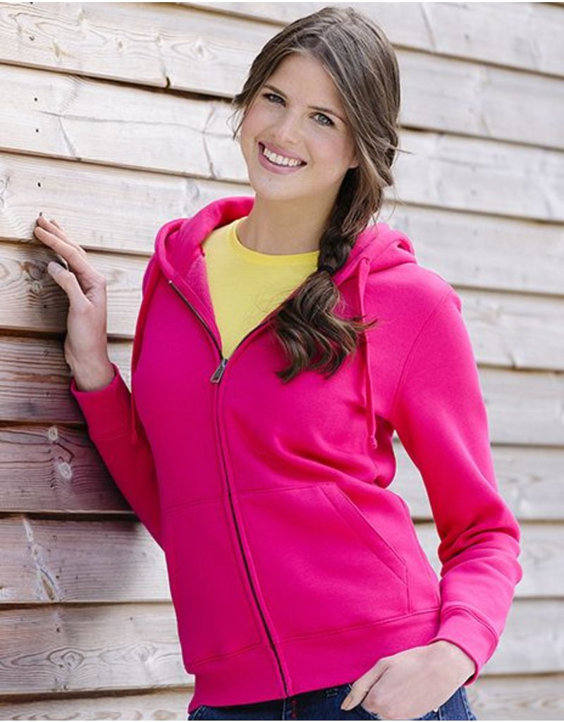 Ladies' Authentic Zipped Hood Royal