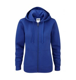 Ladies' Authentic Zipped Hood Royal