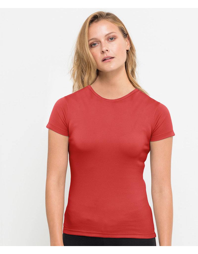 Recycled Sportshirt Rood