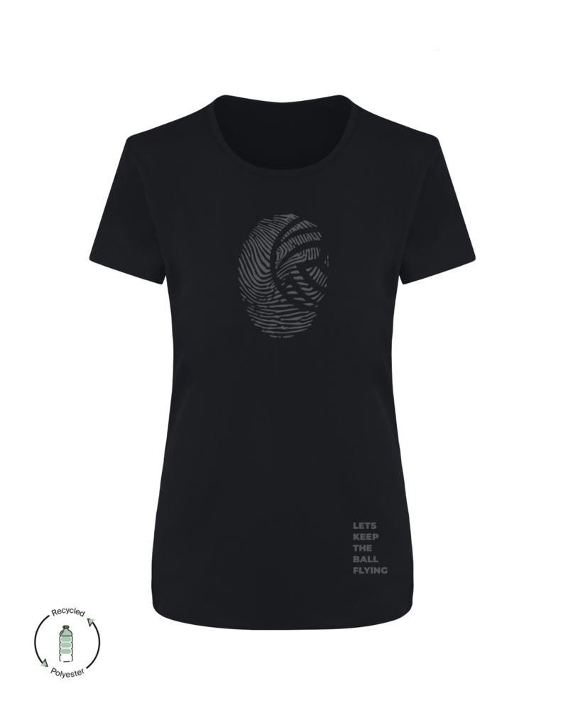 LKTBF Recycled Sport-Tee Fingerprint Woman