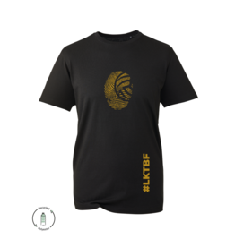 LKTBF Recycled Sport-Tee Fingerprint Gold Men