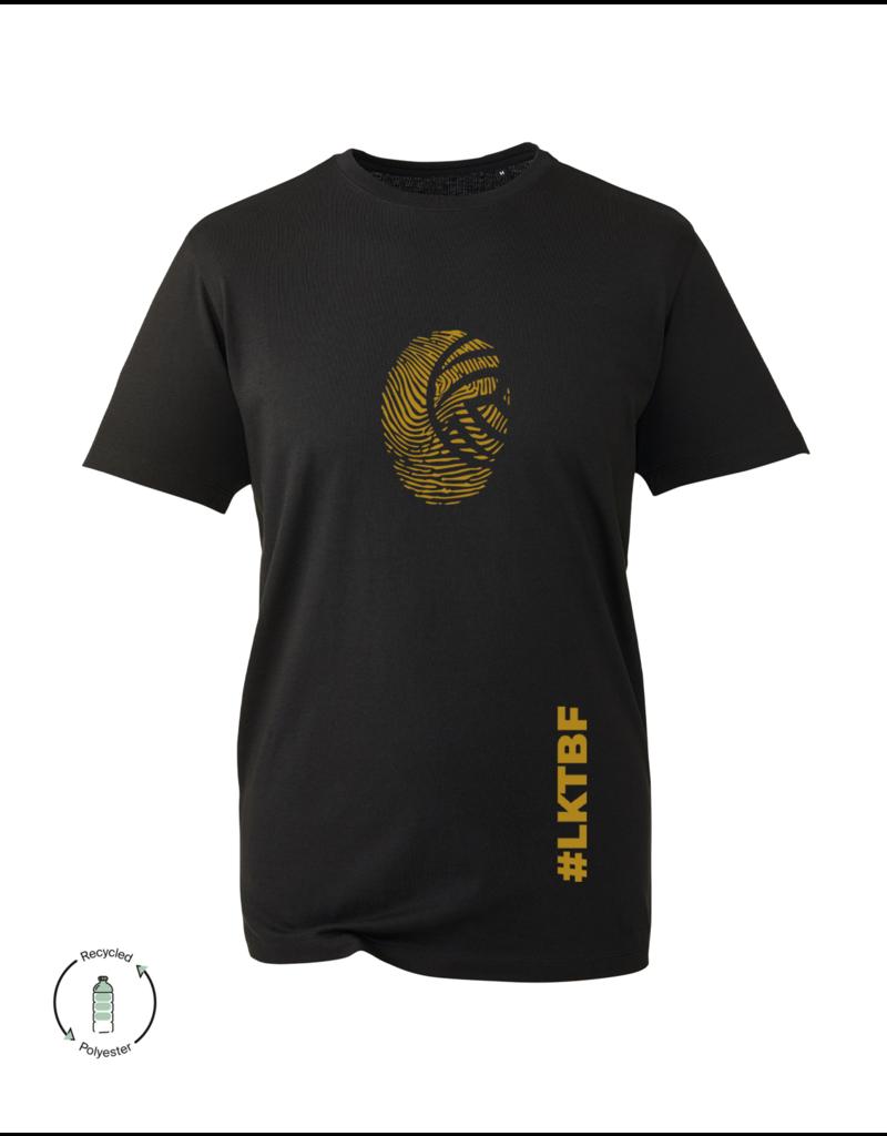 LKTBF Recycled Sport-Tee Fingerprint Gold Men