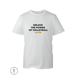 LKTBF Recycled Sport-Tee Power White Men