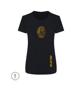 LKTBF Recycled Sport-Tee Fingerprint Gold Woman