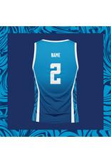 WOW sportswear Mouwloos Performance Shirt Dames  Blue Lagoon