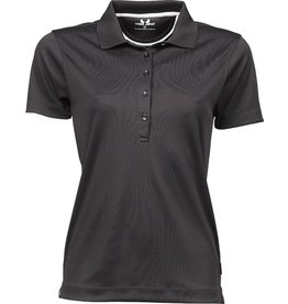 Tee Jays Ladies Performance Polo Sport Dark Grey