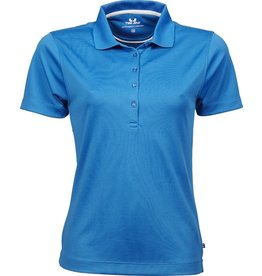 Tee Jays Ladies Performance Polo Sport Azure