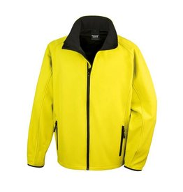 Soft Shell Men Yellow Black