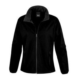 Soft Shell Ladies Black