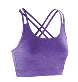Spiro Fitness Crop Top Lavender