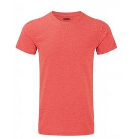 WOW sportswear Men WOW Tee Red Marl