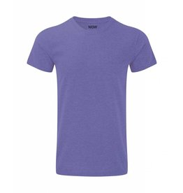 WOW sportswear Men WOW Tee Purple Marl