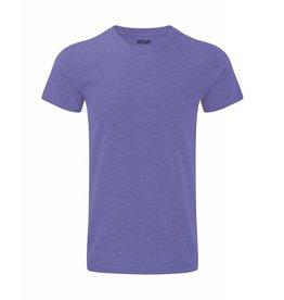 WOW sportswear Men WOW Tee Purple Marl