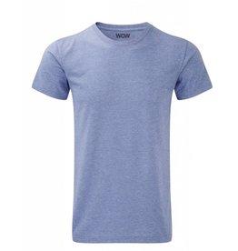 WOW sportswear Men WOW Tee Blue Marl
