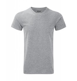 WOW sportswear Men WOW Tee Silver Marl