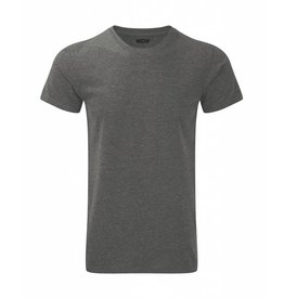 WOW sportswear Men WOW Tee Grey Marl