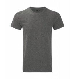 WOW sportswear Men WOW Tee Grey Marl