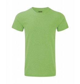 WOW sportswear Men WOW Tee Green Marl
