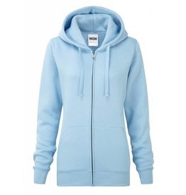 Ladies' Authentic Zipped Hood Classic Sky