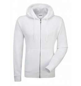 Authentic Zipped Hood Classic White