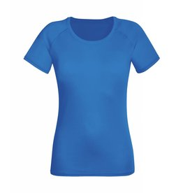 Lady Fit Performance T Royal