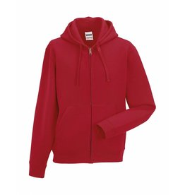 Authentic Zipped Hood Classic Red