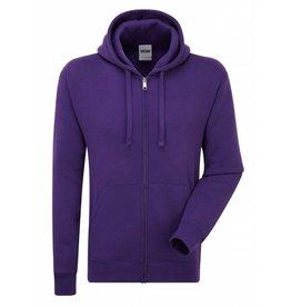 Authentic Zipped Hood Classic Purple