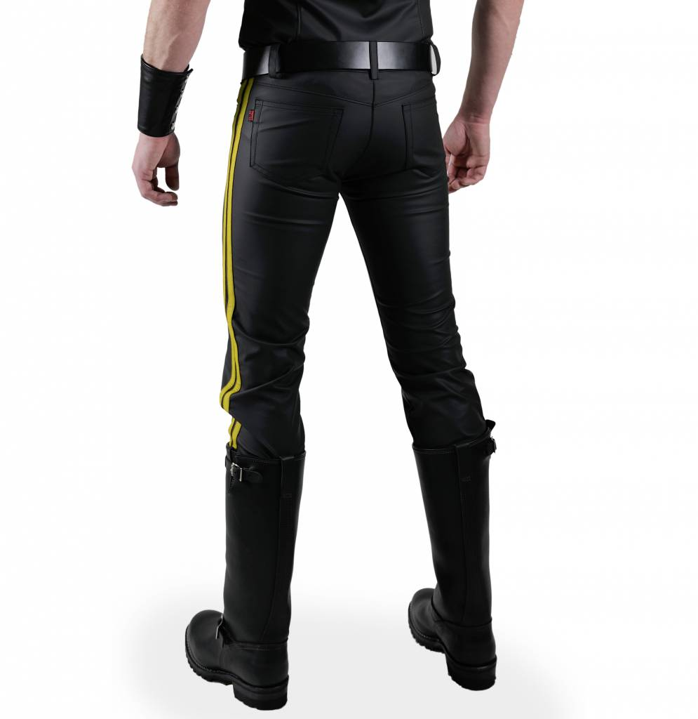 RoB F-Wear Jeans, Double Yellow Stripes