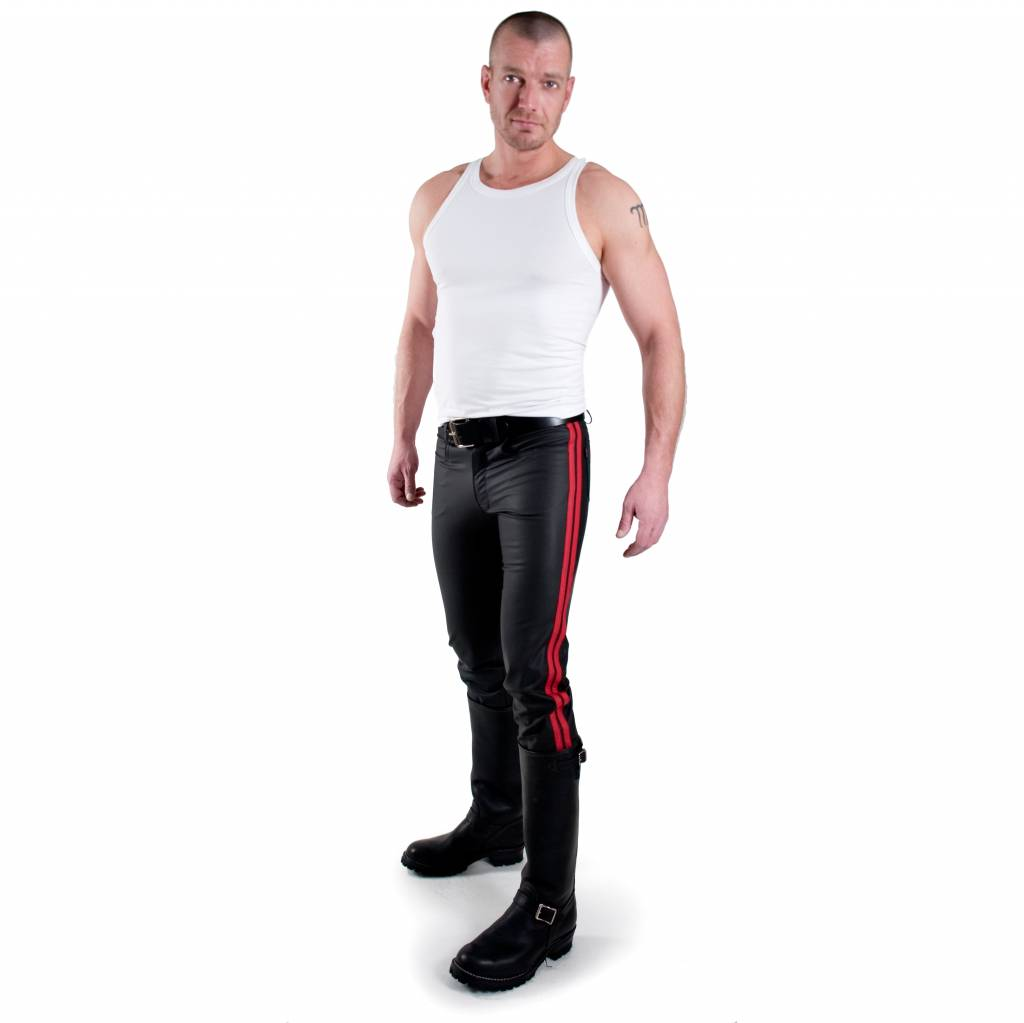 RoB F-Wear Jeans, Double Red Stripes Size