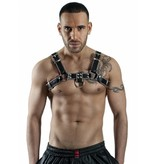 RoB H-Front Harness with grey Piping