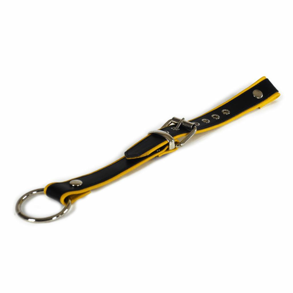 RoB Trek Attachment for Y-Front Harness black with yellow Piping