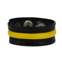 RoB 3-Snap-Cockstrap Black/Yellow
